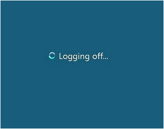 How to log off a RDP session remotely.