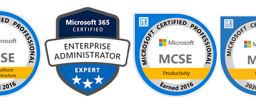 MS Cert Badges